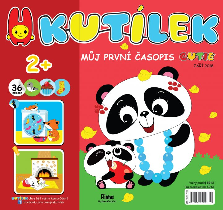titulní strana časopisu Kutílek a jeho předplatné