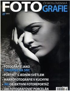 obálka časopisu Československá Fotografie