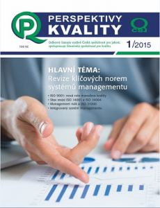 obálka časopisu Perspektivy kvality