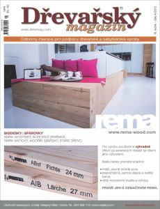 obálka časopisu Dřevařský magazín