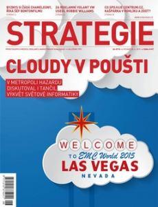 obálka èasopisu Strategie