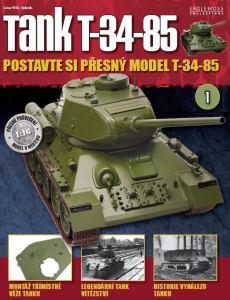 obálka časopisu Tank T-34