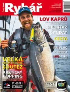 obálka časopisu Český rybář