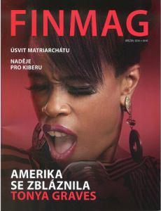 obálka časopisu FINMAG