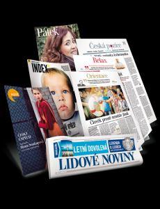 obálka časopisu Lidové noviny
