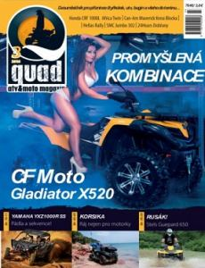 obálka časopisu QUAD magazín