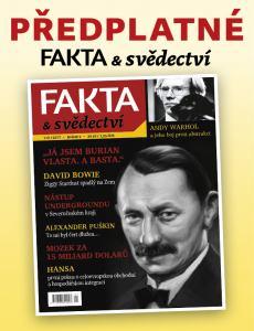 obálka časopisu Fakta a svědectví