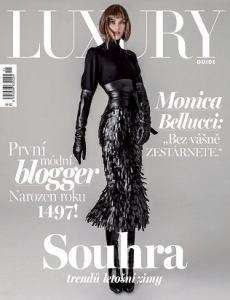 obálka časopisu Luxury Guide
