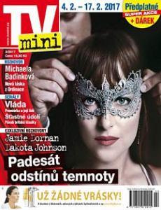 obálka časopisu TV mini