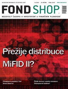 obálka časopisu Fond Shop