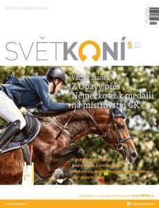 obálka časopisu Svět koní