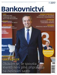 obálka časopisu Bankovnictví