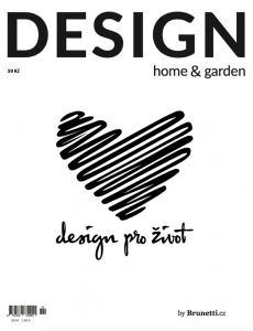 obálka časopisu Design Home & Garden