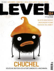 obálka časopisu Level