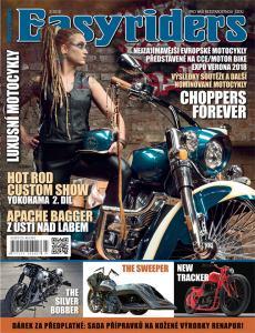 obálka časopisu Easyriders