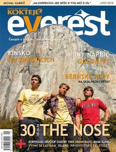 obálka časopisu Everest