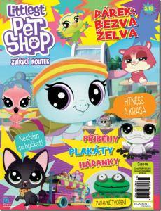 obálka časopisu Littlest Pet Shop