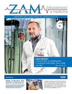 obálka časopisu Zdravotnictví a Medicína - lékař (MF)
