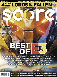 obálka časopisu Score