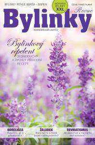 obálka časopisu Bylinky revue