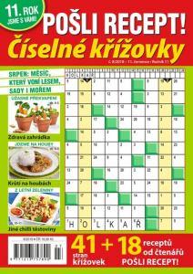 obálka časopisu Pošli recept číselné křížovky