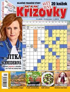 obálka časopisu Svět ženy Křížovky