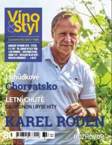 obálka časopisu Víno & Styl