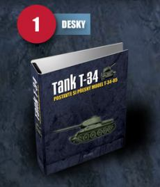 obálka časopisu Tank T-34 obchod