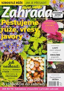 obálka časopisu Zahrada prima nápadů