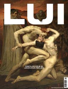obálka časopisu LUI