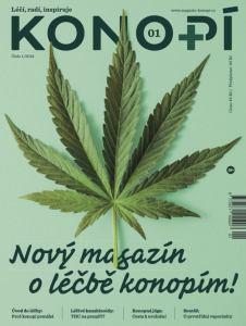 obálka časopisu Konopí na Slovensko
