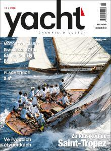 obálka časopisu YACHT