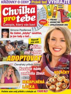 obálka časopisu Chvilka pro Tebe