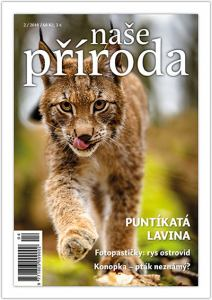 obálka časopisu Naše příroda