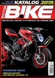 obálka časopisu Motorbike Katalog motocyklů, skútrů a čtyřkolek