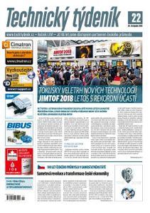 obálka časopisu Technický týdeník