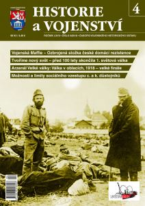 obálka časopisu Historie a Vojenství