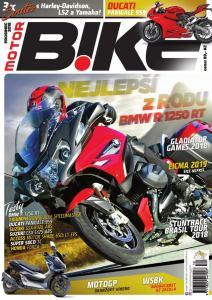 obálka časopisu MotorBike