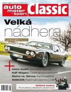 obálka Auto Motor a Sport Classics