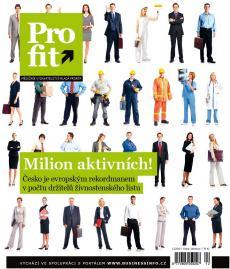 obálka časopisu Profit