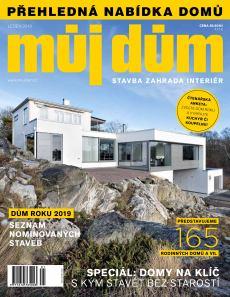 obálka časopisu Katalog rodinných domů