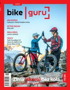 obálka časopisu BIKE guru + OUTDOOR guru