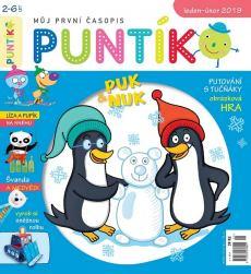 obálka časopisu Puntík