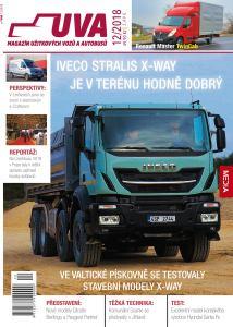 obálka časopisu UVA (Užitkové vozy a autobusy)