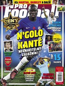 obálka časopisu PRO Football