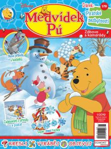 obálka časopisu Medvídek PÚ