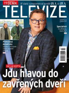 obálka časopisu Týdeník Televize