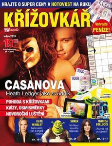 obálka časopisu Křížovkář TV Magazín