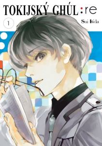 obálka časopisu Tokijský Ghúl: Re
