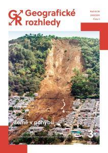 obálka časopisu Geografické rozhledy